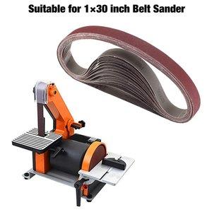 15 Pcs 1X30 pouces Ceintures d'oxyde d'aluminium Sanding Heavy Duty Sanding Ceintures polyvalent pour Abrasive Belt Sander