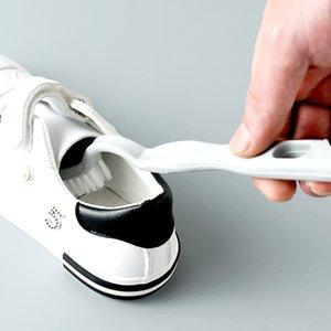Duplo-end sapatos escova Cleaner Limpeza Branco Sapatos Cleaner Sneaker escova de limpeza multifuncional Banho Kit Cleaner Kichen Ferramenta