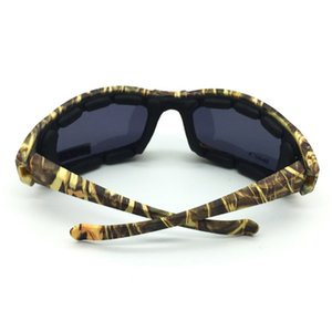 Camouflage frames Outdoor Glasses Windproof polarized lens Goggles for Hiking Shooting Camping Outdoor Eyewear