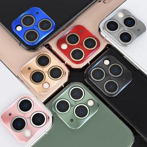 Nouvelle caméra de téléphone portable bague de protection pour iPhone 11 Ultra mince capuchon d'objectif pour iPhone 11 Pro Max