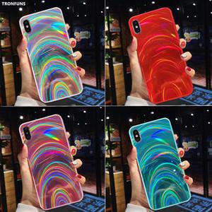 3D arcobaleno Laser Custodia per Samsung Galaxy A50 A30 A70 A20 S10 Inoltre A9 A6 A7 Soft Cover 2018 Nota 9 10 Plus Glitter A10 M10 S8 S9