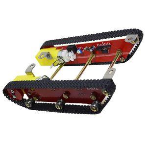 Robot Car Chassis Smart Tracked Crawler Tank Aluminium Alloy Platform w  Motor for Robotic Arduino DIY Kid Educational