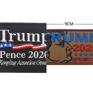 Trump Armband Embroidered Armband 2020 Patch Keep America Great Usa Flag Tactical Morale Patches Race For President