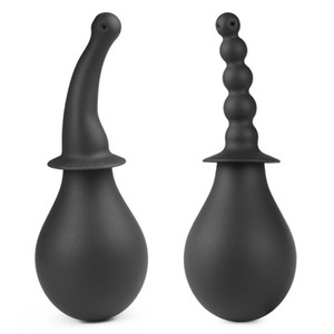Plugue Anal Silicone Anus Limpo Enema Vagina Garrafa de Lavagem Tubo Bico Bomba de Limpeza Sex Toys Produtos Para Adultos Dos Homens Homossexuais