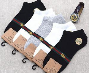 5 пар / 10pcs / Lot Высокое качество Мода мужская носок унисекс женщин хлопок Пара мужские носки Свободный размер