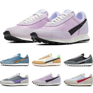 Waffle Daybreak SP Plateforme Chaussures Hommes Femmes Chaussures Casual argent métallique or bleu rose entraîneurs des hommes de sport Taille 36-45