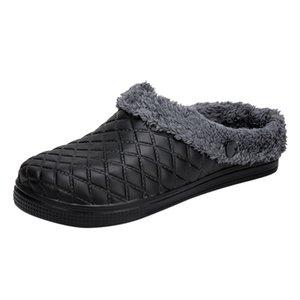 SAGACE Couple Slippers Men Large Size Casual Shoes Men Home Plus Velvet Warm Shoes Comfortable Cotton soft Slippers Bedroom 2019
