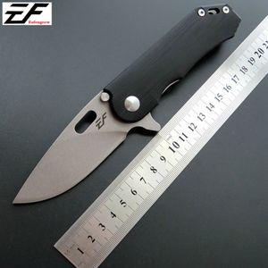 Eafengrow EF32 58-60HRC D2 Blatt G10 Griff Klappmesser Überlebens-kampierende Werkzeug-Jagd-Taschenmesser taktische edc im Freien Multi-Tool ker