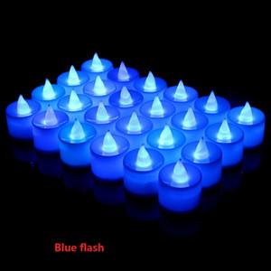 Novo Criativo Multicolor CONDUZIU a Lâmpada Da Vela Simulação Cor Flame Light Home Festival de Casamento Decoração de Festa de Aniversário Decoração ST592