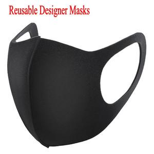 Wholesale Designer Face Mask Designer Anti-Dust Cotton Mouth Face Mask Black Protective Masks Unisex disposable facemask