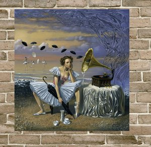 Michael Cheval melody of rain Home Decor Handcrafts  HD Print Oil Painting On Canvas Wall Art Canvas Pictures 200516