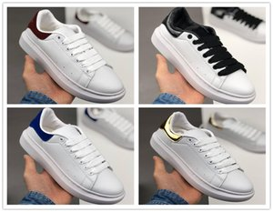 Cuoio 2020 nuova scarpa stagione sportiva scarpe di moda gli uomini delle donne di Lace Up Platform oversize Sole Sneakers arthur