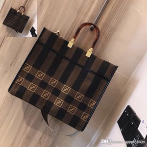2020 modelos populares mais recente de compras mulheres retro do desenhador bolsas Fendi bolsas de couro grande capacidade de sacos de luxo de moda