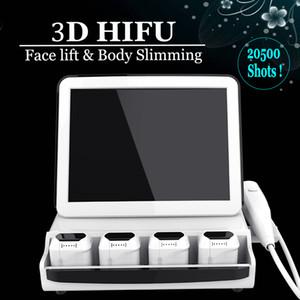 Tıbbi Sınıf 3D HIFU Makine Yüksek Yoğunluklu Yüz Kırışıklıklar Kaldırma Tedavi Kaldırma Ultrason HIFU tedavisinin Face Odaklı