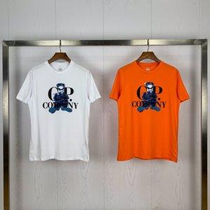 Nueva llegada CP camiseta Marca hombre T Shirt Company Diseñador camiseta Hombres Mujeres CP traje de lujo Tees Cp abrigos de primavera y verano Pullover 20040201L