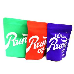 Белого Runtz сумка Зеленый Runtz COOKIES Red Runtz О.Г. 3.5G Молния Сумка 3,5 Граммы SF пахнет Proof упаковки DHL Free