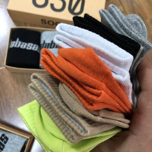 Season6 350 box socks Eur America 500 fashion brand 700 Kanye west v2 Calabasas sock Wear shoes as you like [order 5 pairs at least] 90719e#