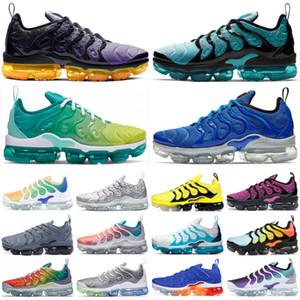 TN Plus Olímpico trullo para hombre zapatos para mujer de calidad superior del diseñador del juego Royal Racer triple azul Negro Blanco zapatillas deporte corrientes