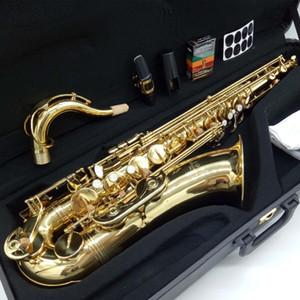 YANAGISAWA Saxofone Tenor T-992 ouro Lacquer Professional Tenor Sax com caso Reeds Neck Bocal nova marca