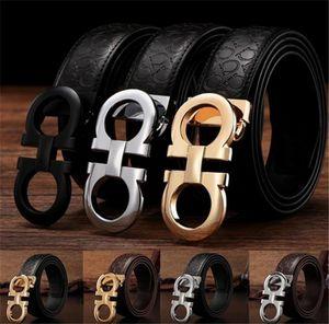 cinture di lusso cinture di marca per gli uomini fibbia della cintura maschile cinture di castità mens di moda cintura in pelle Boutique trasporto libero all'ingrosso