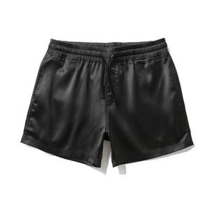 Pantalones cortos para hombre para hombre Club nocturno Estilo de playa Gran tamaño Recto Relajado Verano Cómodo Use Pantalones de viento europeo