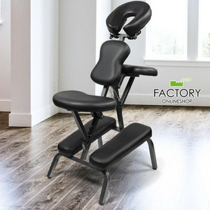 Portable Massage Chair Folding Adjustable Therapy Spa Tattoo w Free Carrying Bag