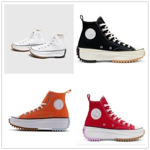 2020 Womens J.W. JW Anderson Chuck Run Star Hike Vulcanized Shoes Women Canvas Female Sneakers Platform Shoe Girls Sneakers