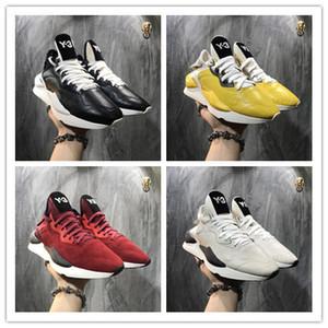أعلى بيع 2019 جودة عالية y3 kaiwa الأصفر مكتنزة yohji أحذية جديد أزياء الرجال كور أسود أبيض أحمر عارضة رياضة المدربين 22