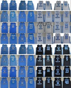 North Carolina Tar Heels 23 Michael J 2 Joel Berry II 5 Marcus Paige 11 Johnson 15 Vince Carter 40 Harrison Barnes College Basketball Jersey