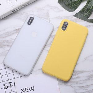 Candy Color Cellphone Case TPU For iphone 11 Pro Max XS MAX XR X 6S 7 8 plus Huawei P30 Mate 20 Silicone Phone Case DHL Free