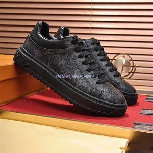 2020 Fashion Men Sneakers Leather Casual Shoes Balck Pure men women flat shoes no box size 38-45