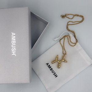 2020 Ambush Dog Necklace Hiphop Style Women Men Unisex Chain Necklace Jewelry Ambush