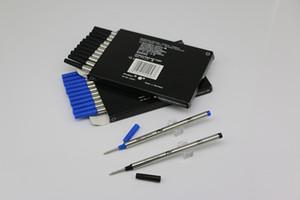 Nouveau Lot de 12 Pcs MB Rollerball Pen Noir / Bleu 710 Recharges Medium Point peut colocalisation mélangé avec des recharges couvercle