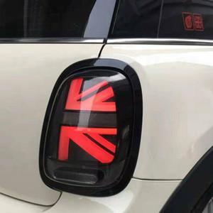 MİNİ Arka Işık DRL + 2013-şimdi MINI Cooper F55 F56 F57 Kuyruk Lights için Araç Şekillendirme Dönüş Sinyal + Fren + Ters LED oto Aksesuarlar ışıkları