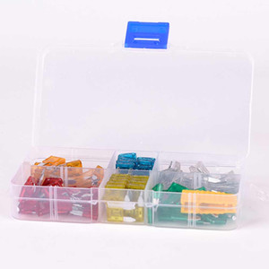 CAR 120pcs Auto Car Mini Blade Type Fuse Assortment 5A 10A 15A 20A 25A 30A Amp