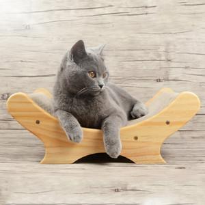 Pet Cat Scratch giocattolo rampicante Ondulato Cat Scratch Pet Consiglio Lounger Divano