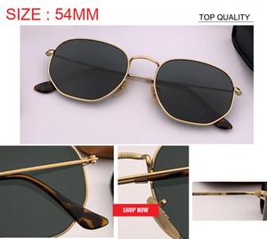 2019 new club Kadın Erkek usta Güneş Gözlüğü kare Marka Tasarımcısı düz altıgen güneş Gözlükleri Sürüş UV400 gafas óculos de sol feminino rd3548