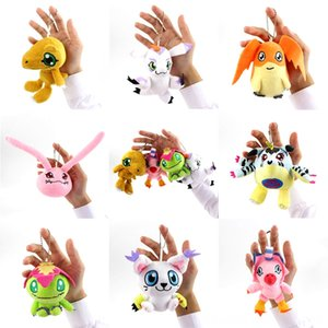 8styles Digimon Plush Toy Patamon Palmon Piyomon Tailmon Gomamon Koromon Gabumon Agumon macias Jogos Filme Figuras Figuras de Ação Stuffed