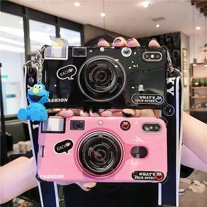 Cas de téléphone Designer de caméra de mode pour 4.7 '' IPhone 6 / 6S IPhone7 / 8 5.8 '' 6plus / 6Splus 7plus / 8plus IPhoneX XR XS Marque Max Shell Téléphone