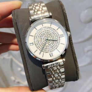 Stainless Steel Women Watch drop shipping Casual Design Rose WristWatch Ladies Fashion Luxury Quartz Rhinestone Watch Relojes De Marca Mujer
