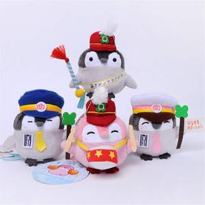 Japonais Stuffed Penguin Tit Band Garde d'honneur Big batteur Peluche petit pendentif Animaux en peluche pour enfants Jouets