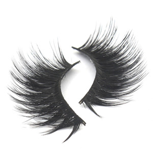 27 Styles 017 False Eyelashes 3D Mink Eyelashes 3D Silk Protein Lashes Soft Natural Thick Fake Eyelashes Eye Lashes Extension