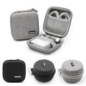 Hard Shell Earphone Storage Bag Mini Portable Case EVA Bluetooth Bag Data Cable Charger U Disk Protective Cover 1Pc