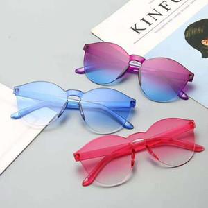 24 farbe rahmenlose verbundene jelly transparente sonnenbrille europa und amerika süßigkeiten farbe sonnenbrille integrierter marine film sonnenbrille wcw262