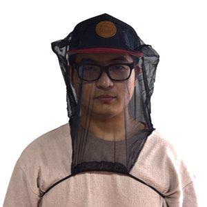 Açık Taşınabilir Böcek Maske Orman Keşif Önlemek Sivrisinek geçirmez Örgü Kapak Balıkçılık Nefes Görsel Vermin Geçirmez Şapka