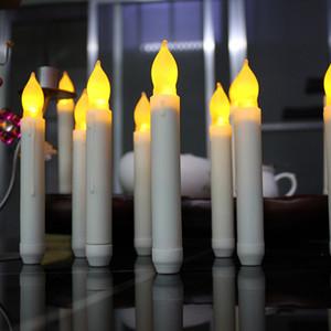 Led Battery Operated Candles 깜박임 flameless 촛불 램프 스틱 촛불 웨딩 홈 장식