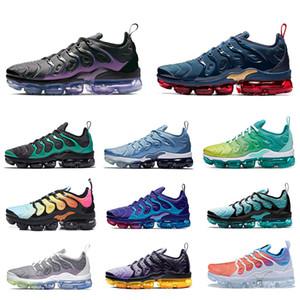 2020 New Tn De plus Vapeurs Esprit Teal géométrique actif Femmes Hommes Chaussures de course Aurora Designer entraîneurs des espadrilles de sport respirant Chaussures plates