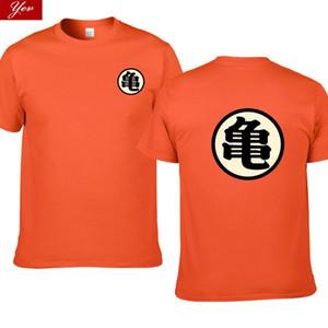 Hommes Dragon Ball Roshi T-shirt Hommes d'été Top Dragon Ball Z super fils cosplay goku drôle t-shirts manga T-shirt Vegeta top