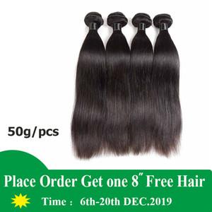 Virgin Brazilian Hair Bundles Straight Cheap Malaysian Human Hair Weaves Wefts Straight 5 6 Bundles Lot Cheap Hair Extensions 50g pcs