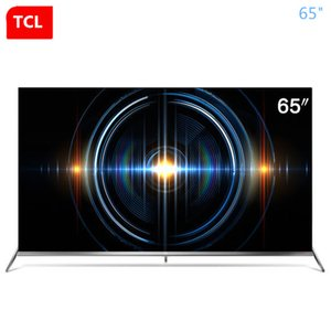 TCL da 65 pollici 4K uhd piena HDR ecologica angolo arrotondato a pieno schermo scena AI TV nuovo prodotto caldo di trasporto libero!